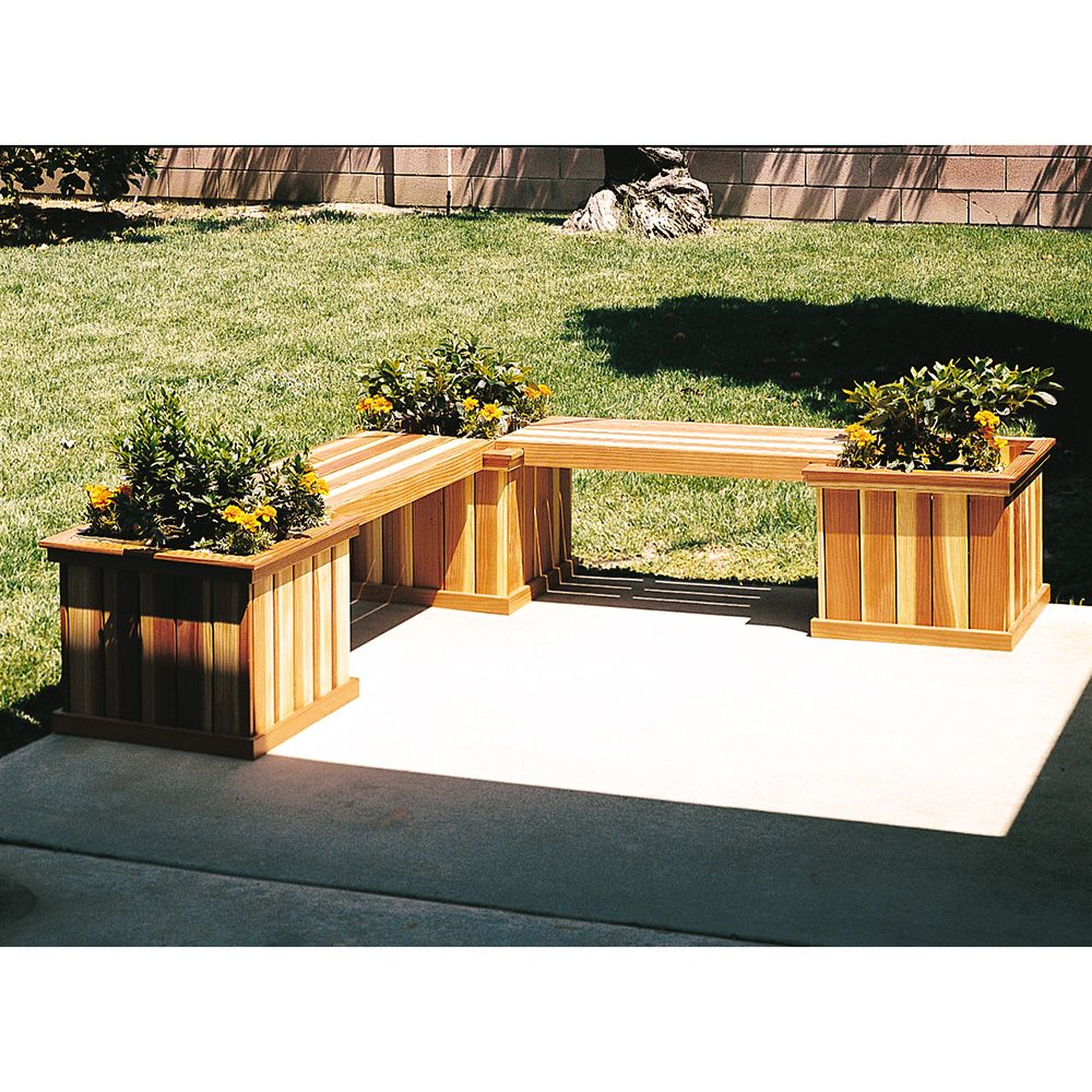 U Bild Planter Bench Plan 878