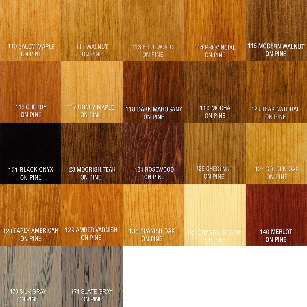 Zar 174 Oil Based Wood Stain 110 Salem Maple Rockler