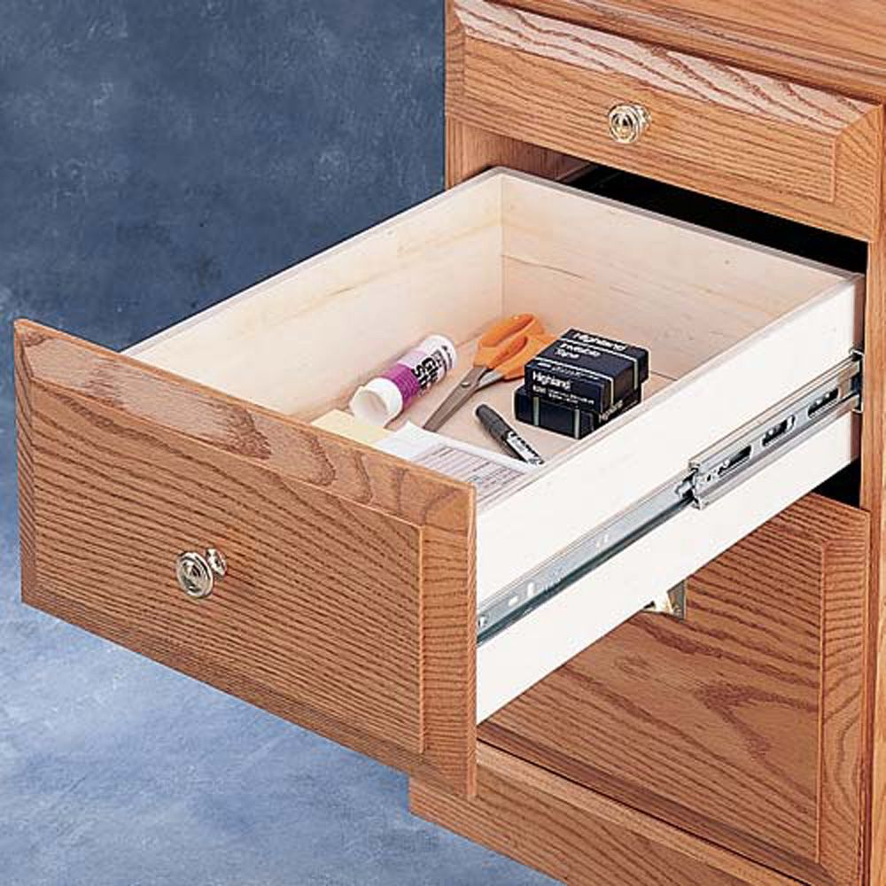 Accuride Full Extension Zinc Box Drawer Slides Series