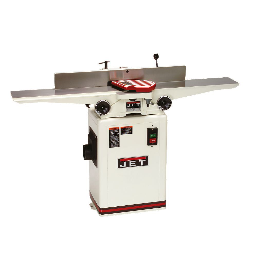 Jet® 6'' Long Bed Jointer w/Helical Head