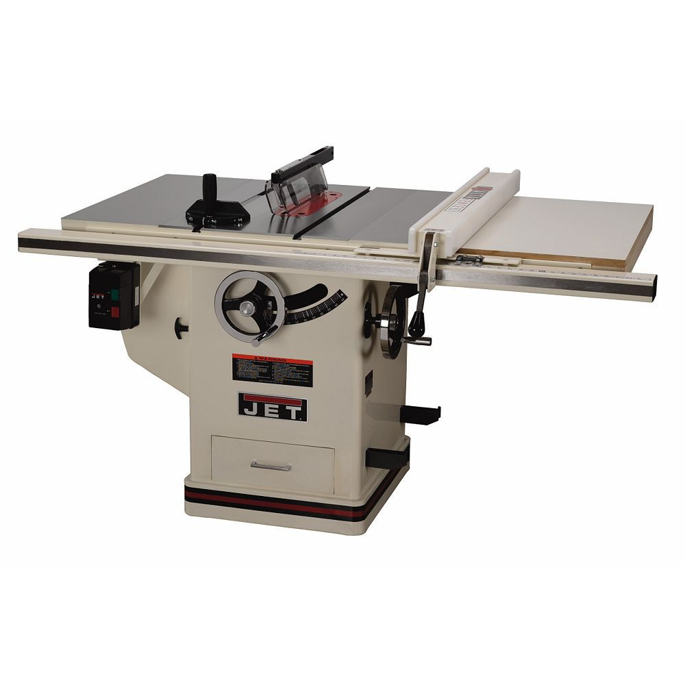 Jet Deluxe Xacta 3hp 10 Quot Table Saw W 30 Quot Fence 708674pk