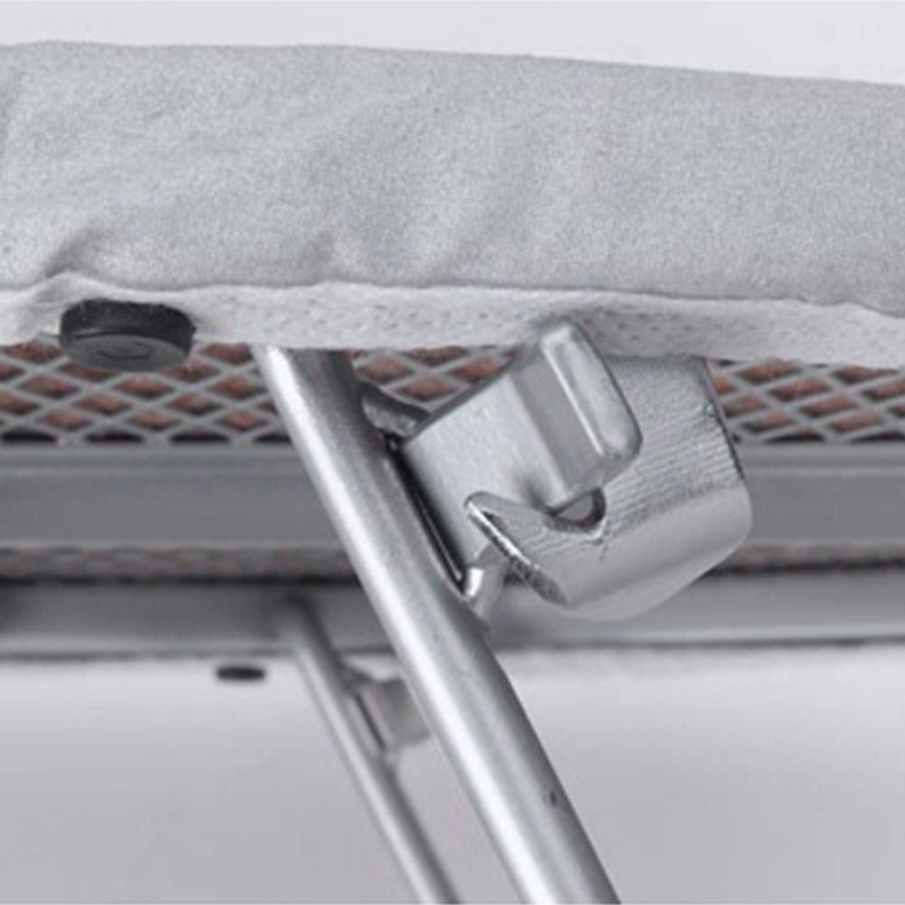 vanity fold out ironing board chrome wire vib 20cr. Black Bedroom Furniture Sets. Home Design Ideas