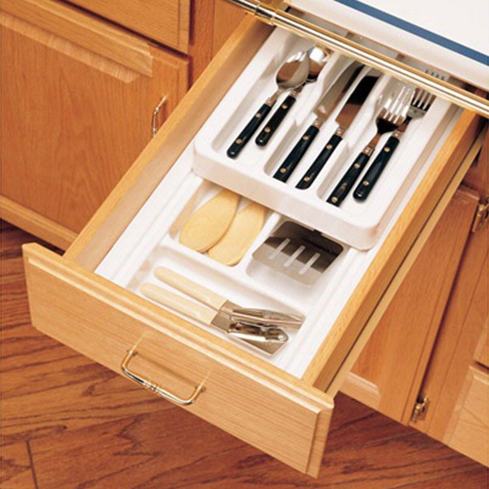 Rolling tray kitchen drawer organizers rev a shelf rt series 11 3 4 wide