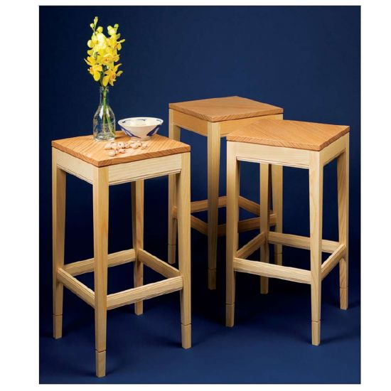 Easy-Chair Side Tables Downloadable Plan