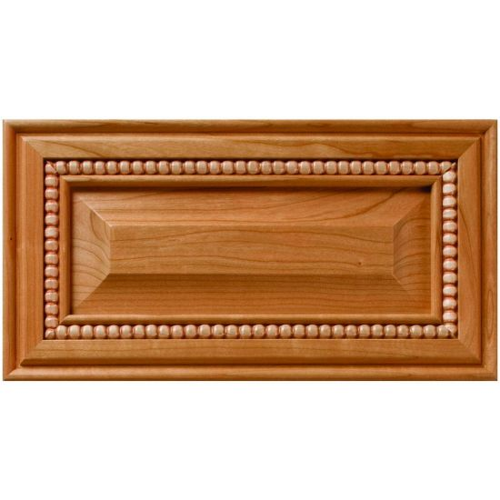 Pavillion Inlaid Bead Decorative Raised Panel Drawer Front