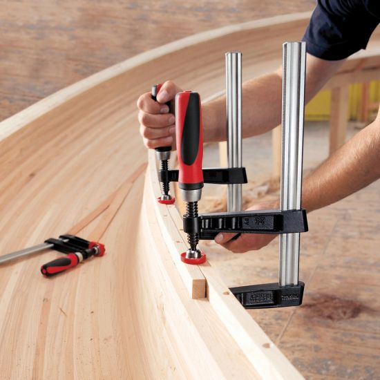 Bessey TG Professional Series Bar Clamps – Light Duty, 4-inch throat