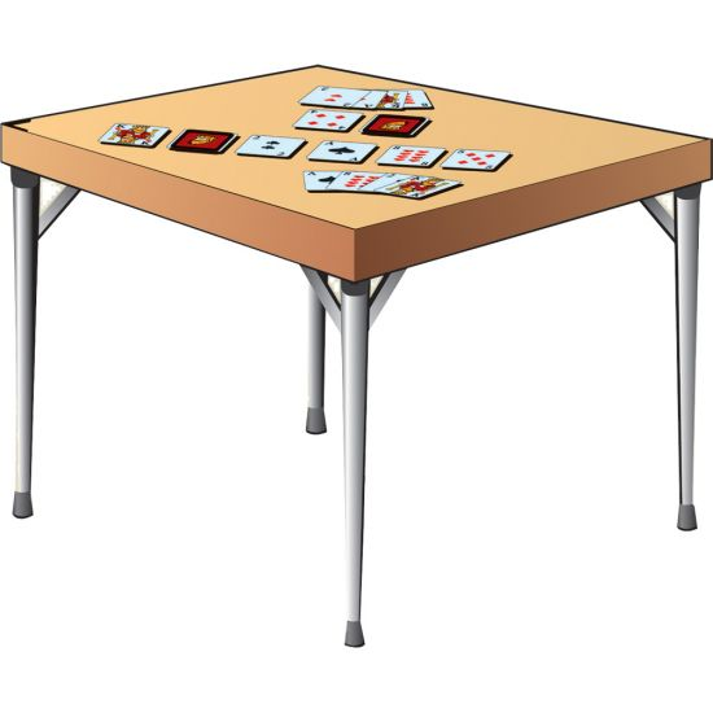 Folding Game Table Legs
