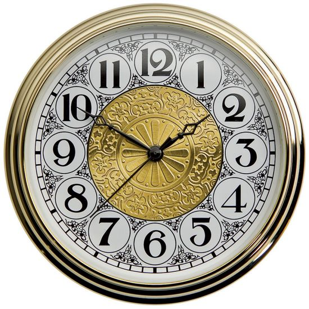 Rockler 2'' Deluxe Quartz Clock Fittings