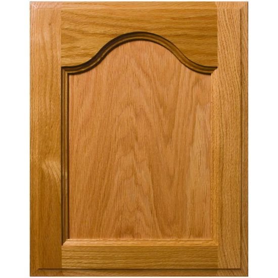 Mission Cathedral Style Flat Panel Cabinet Door
