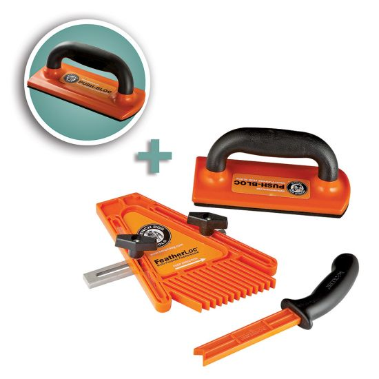 Bench Dog® 3-Piece Safety Kit with Additional Ultra Push-Bloc