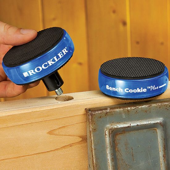 Rockler Risers for Bench Cookie® Plus (2-Pack) (2 Cookie Height)