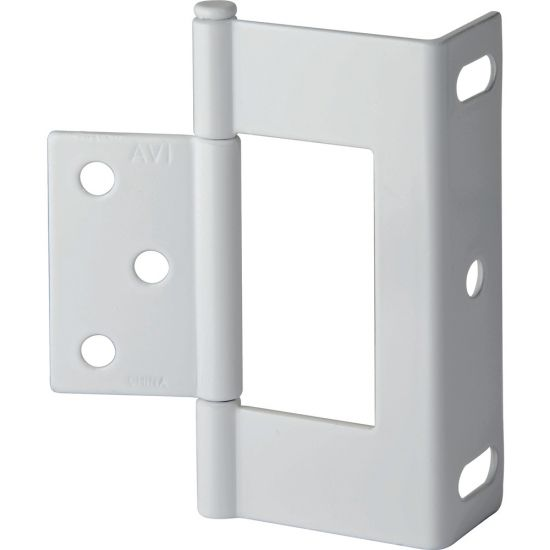 "3"" Non-Mortise Wrap Hinges (Various Finishes)"