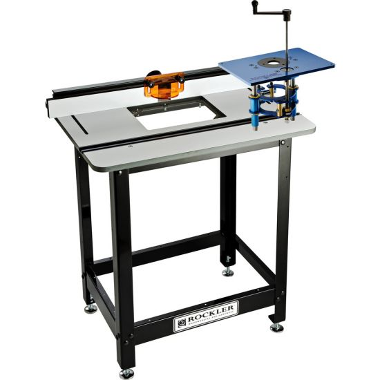 Pro Phenolic Router Table, Fence, Stand, & FX Router Lift