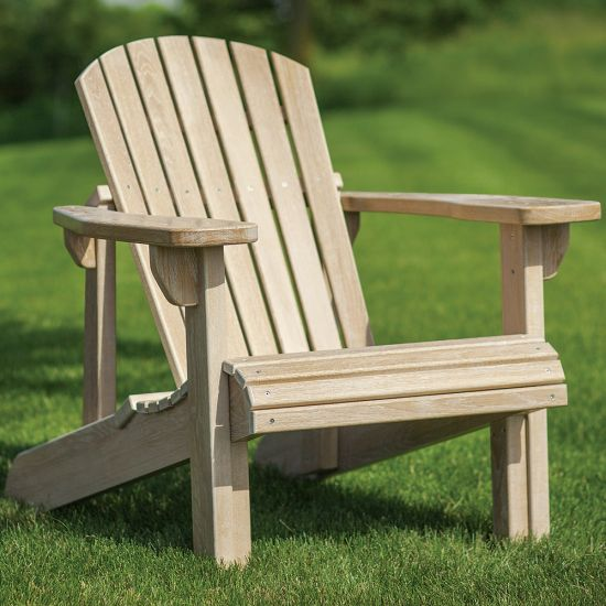 Adirondack Chair Templates with Plan and Stainless Steel Hardware Pack