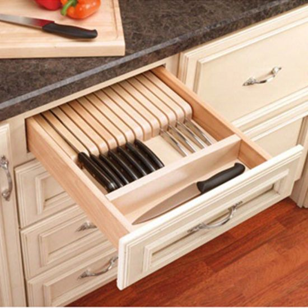 kitchen drawer organizers rev a shelf 4wkb series - Kitchen Drawer Organizers