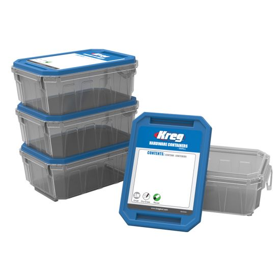 Kreg Hardware Containers, 4-Pack
