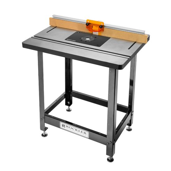 Bench Dog® Cast Iron Router Table, Pro Fence, Steel Stand and Plate