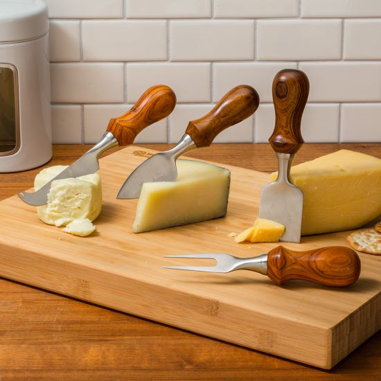 Rockler Four-Piece Cheese Knife Turning Kit