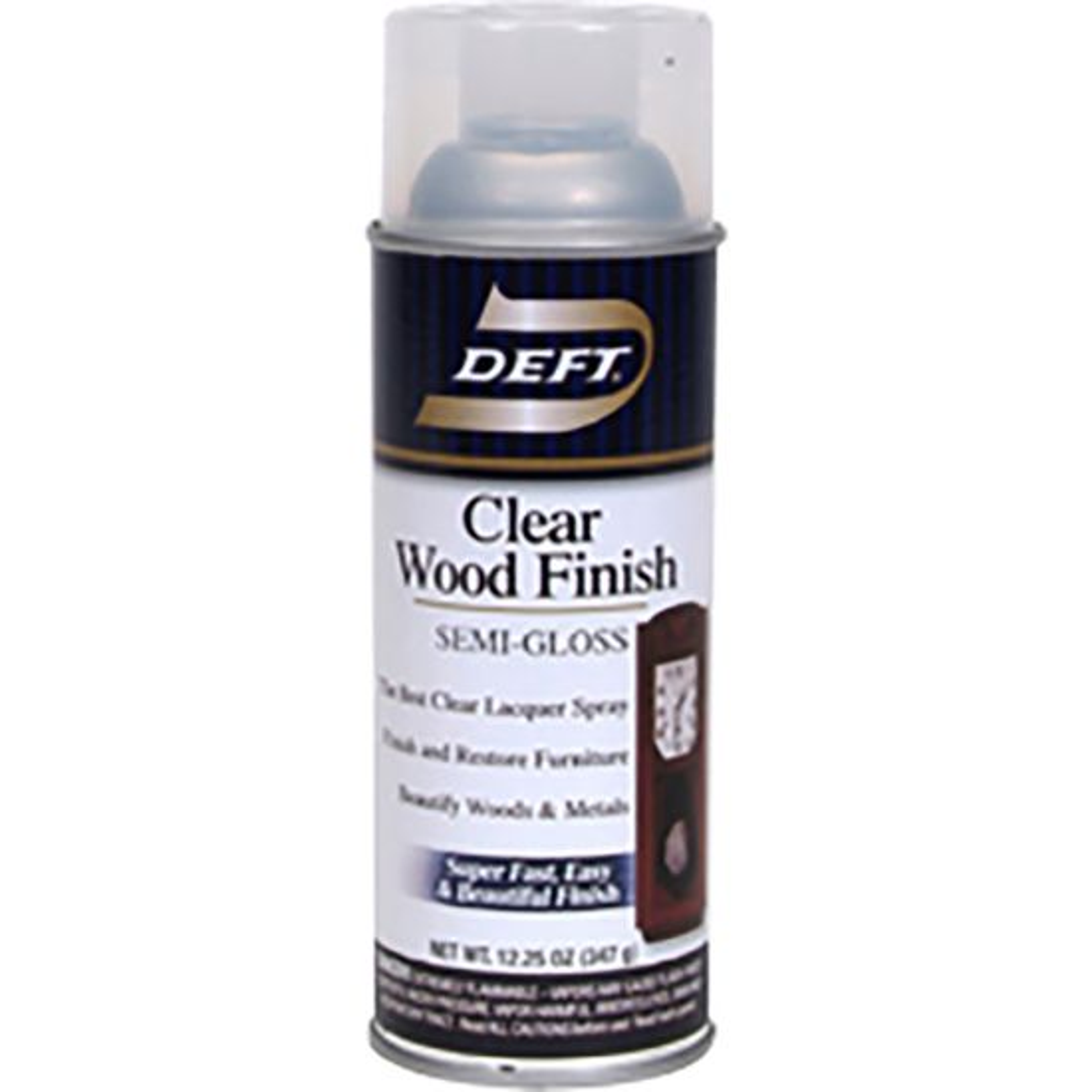 Deft Semi-Gloss Wood Finish Spray