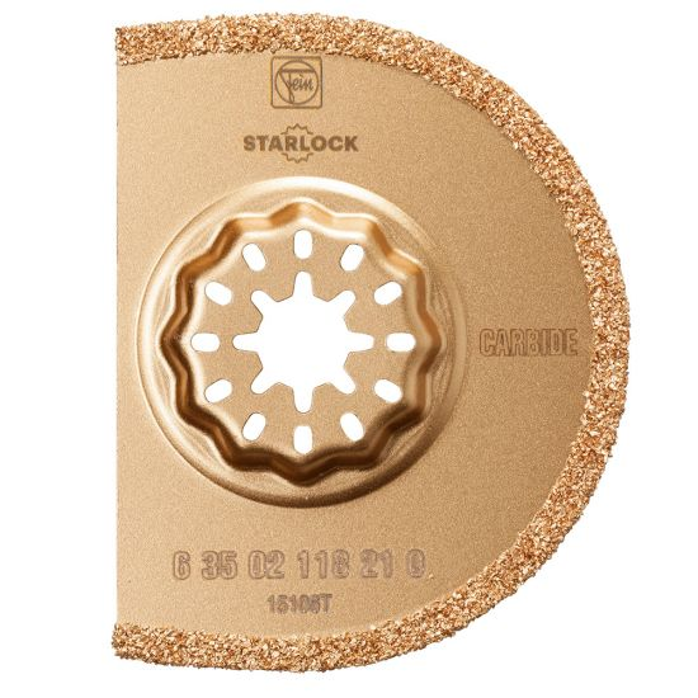 Fein Starlock 3'' Segment Carbide Grout Blade, 1-Pack