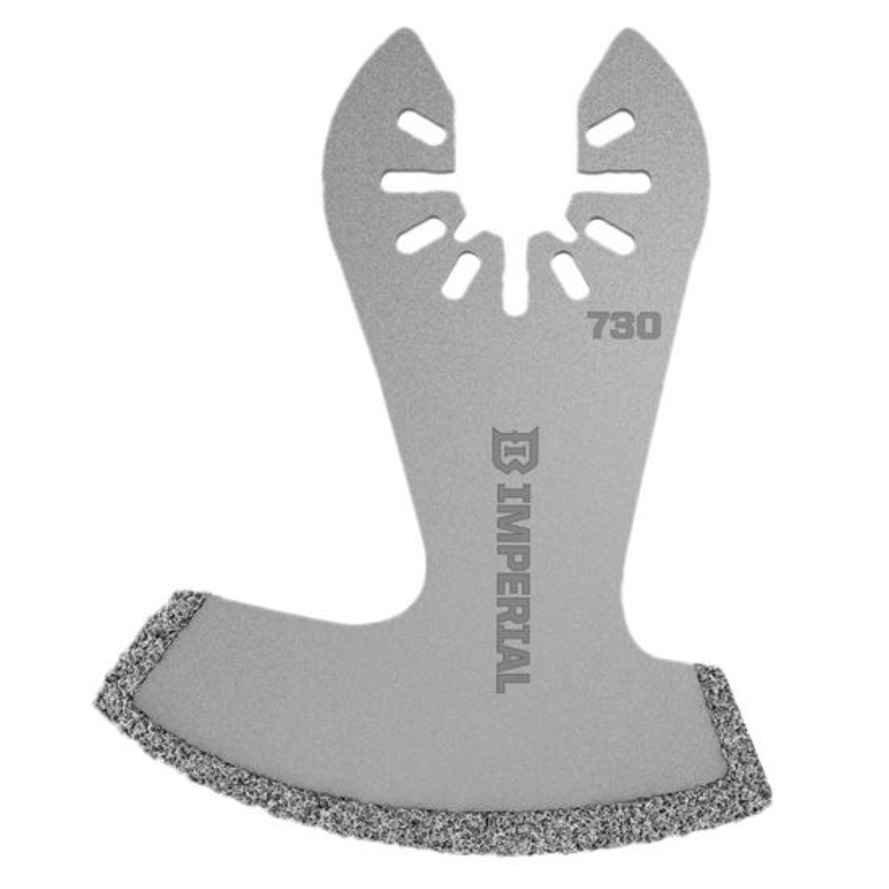 Universal-Fit Multi-Tool Blade, Diamond-Coated Segment Boot, 1-Pack