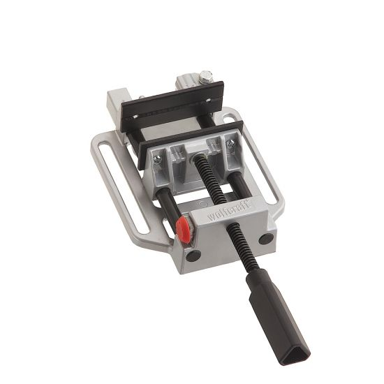 Wolfcraft 4'' Quick-Jaw Drill Press Vise with Table Clamp