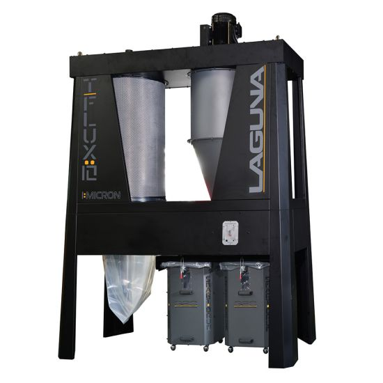 Laguna T|Flux 10hp 1-Micron Industrial Cyclone Dust Collector