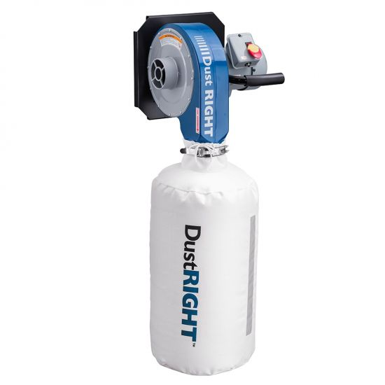 Dust Right® Wall-Mount Dust Collector, 650 CFM