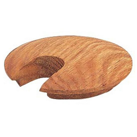 Slotted Hardwood Grommets-Select a type