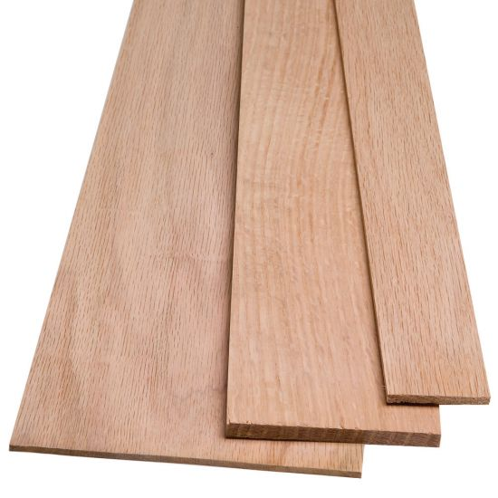 """Red Oak by the Piece-1/8"""" Thickness"""