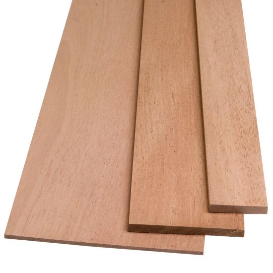 "African Mahogany by the Piece-1/2"" Thickness"