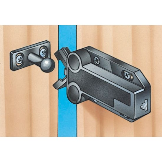 Safe Push Touch Latches Select Size And Color Rockler
