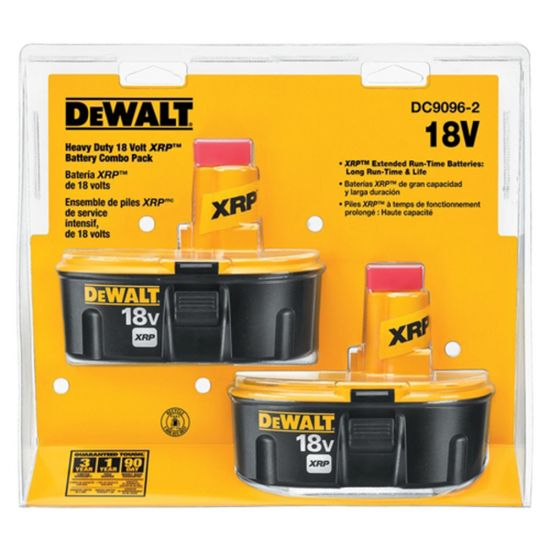 Dewalt DC9096-2 18V XRP™ Battery Combo Pack