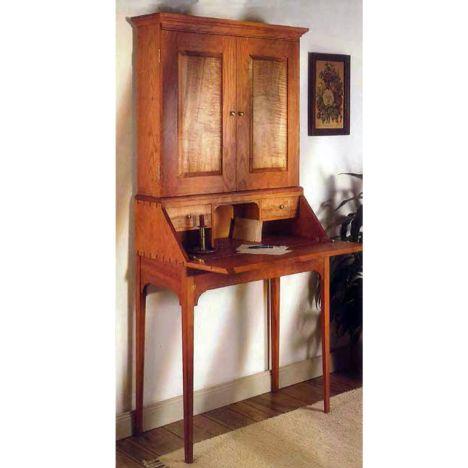 Secretary Desk Plan Rockler Woodworking And Hardware