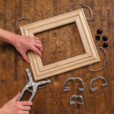 L Spring Clamps Continue 4 Pack Miter For Picture Frames And Wood Trim Moldings