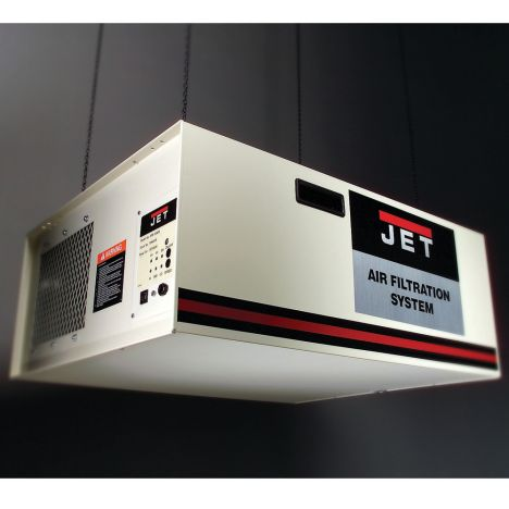 Jet 1000cfm Air Filtration System With Remote Rockler Woodworking And Hardware