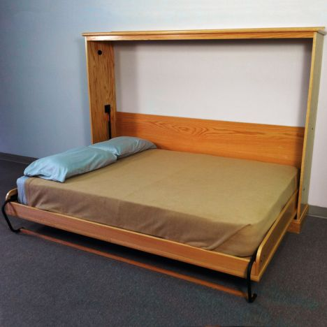 Deluxe Murphy Bed Kits Side Mount, Twin Size Deluxe Murphy Bed Hardware Kit Horizontal