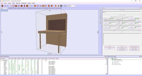 Sketchlist 3d Furniture Design Software Version 4 Rockler Woodworking And Hardware