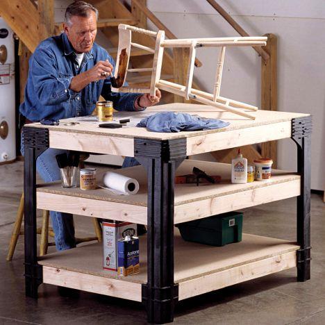Rockler 36 Height Workbench Kit Rockler Woodworking And Hardware