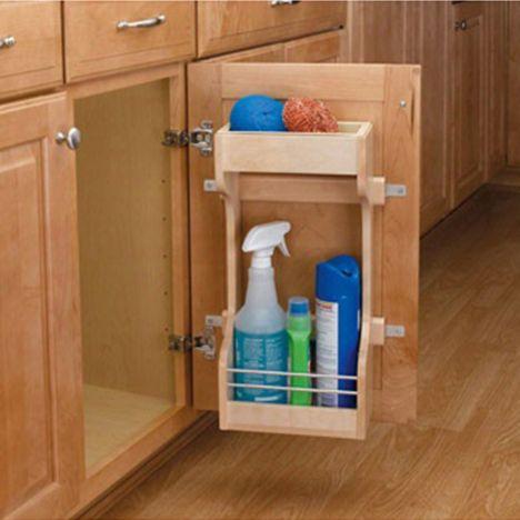 Cabinet Door Mount Organizers Rev A Shelf 4sbsu Series Rockler Woodworking And Hardware