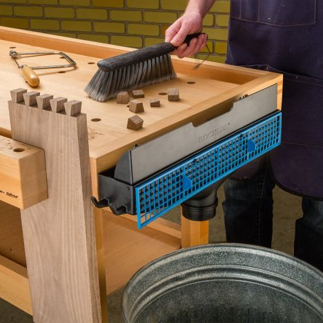 Dust Right Bench Sweep Rockler Woodworking And Hardware