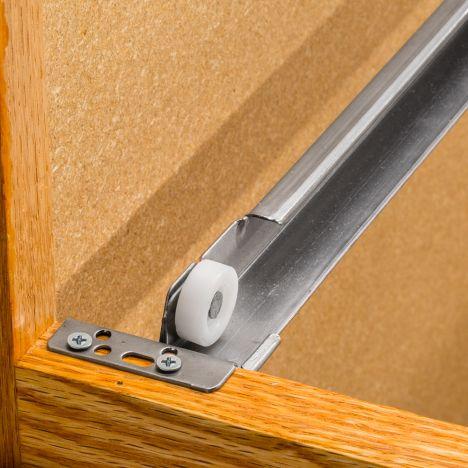 Go Ez Universal Concealed Drawer Slide Set Rockler Woodworking And Hardware
