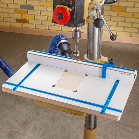 Rockler Drill Press Fence - opens a modal dialog