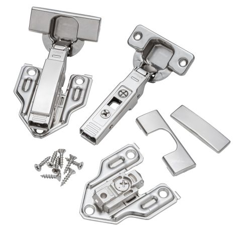 Blum 95 Face Frame Thick Door Hinges Rockler Woodworking And Hardware