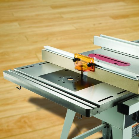 Bench Dog Cast Iron Router Table For Table Saw Pro Fence And Plate Rockler Woodworking And Hardware