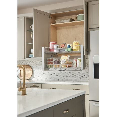 Rev A Shelf Cabinet Pull Down Shelving System Wall Accessories Rockler