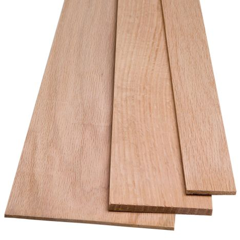RED OAK QUARTER SAWN//boards lumber 3//4 X 8 X 36 surface 4 sides by WOODNSHOP