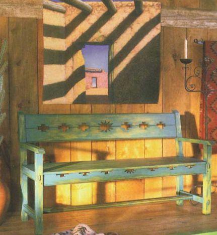 Woodworker S Journal Santa Fe Bench Plan Rockler Woodworking And Hardware