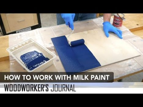 General Finishes Milk Paint Snow White Pint Rockler Woodworking And Hardware