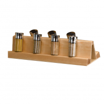 Natural Wood Spice Rack Insert